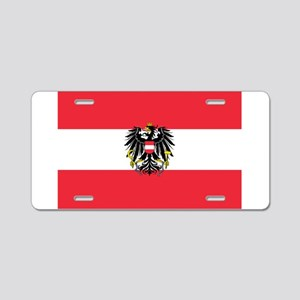 Austria Aluminum License Plate